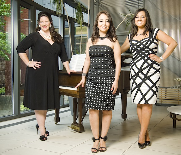 Maggie Antillon-Mathews, Jeannine Prombo and Stephanie Andre-Ouellette