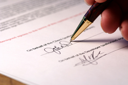 mortgage signature