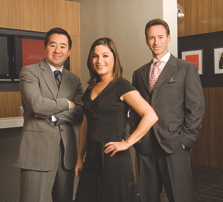Additional members of the executive management team at Jameson: Michael Sato-President, Elana Spector-VP of Marketing and Chris Feurer-CEO