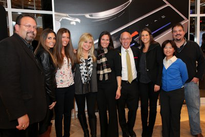 L to R: Phil Burnstine, Tara Furnari, Chloe Glass, Allison Nichols, Jamie Bernhardt, Ron Ruby, Elise Wiss, Yu-Ling (CoCo) Hou and Jerry Houlihan