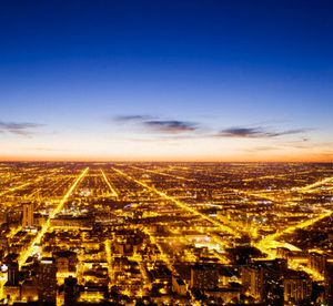 View of Chicago from Sears Tower