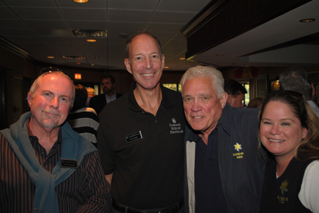 Denny Dooley, Chris Eigel, GW Bailey and Shannon Malone Celebrate at the Sunshine Kids Fundraising Event held on September 19 2012