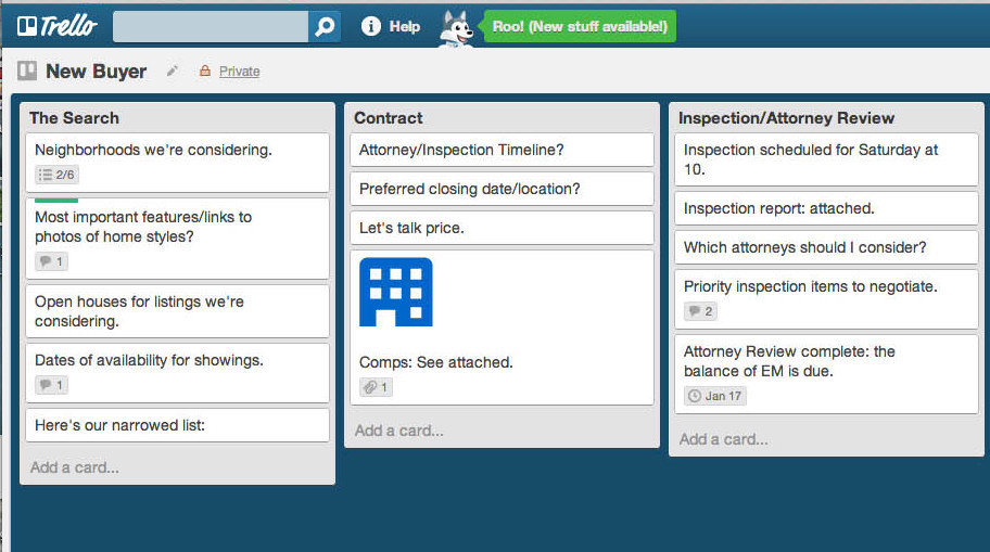 Trello is a free, collaborative Web application that can help you develop relationships with your younger clients.