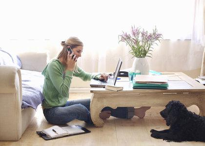 woman-working-from-home-real-estate