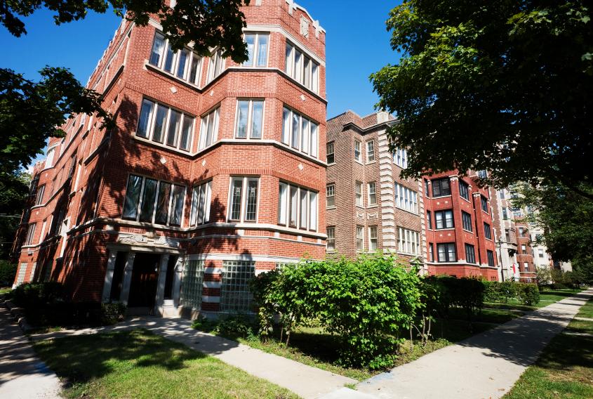 Brick-Apartments