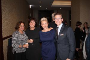 Nadine Ferrata, Ronna Streiff, Laura Schwartz, and Craig Hogan