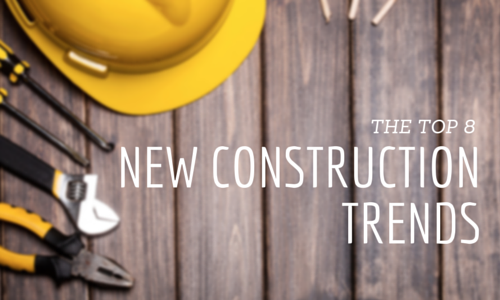 The top 8 trends for new construction homes for New home construction trends