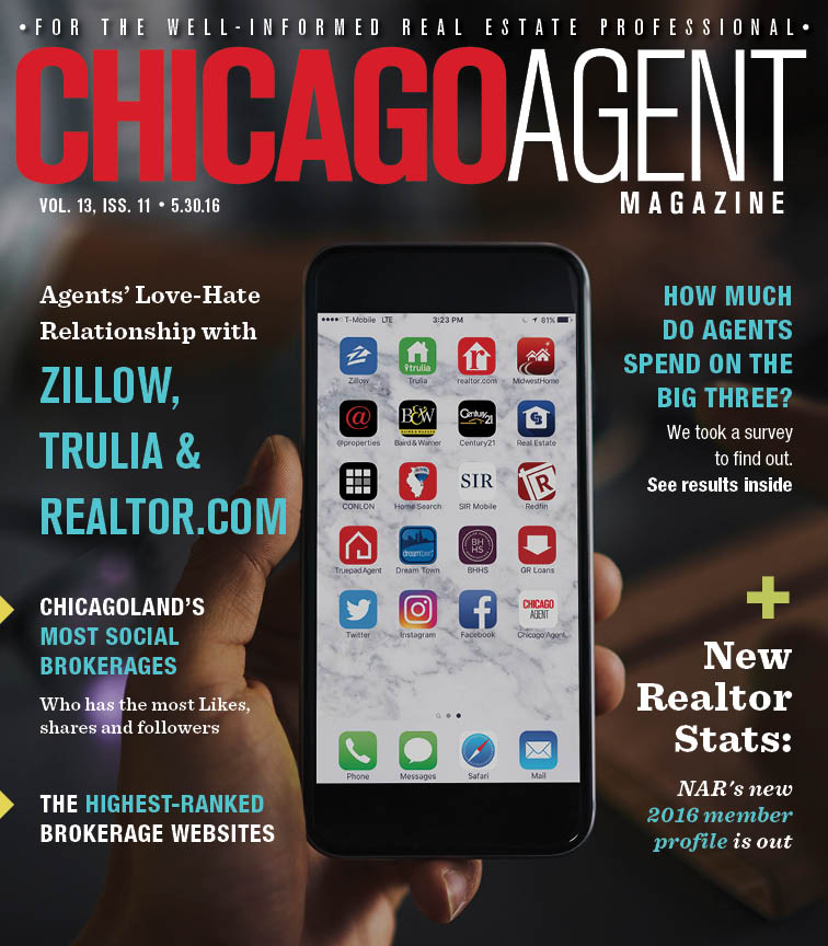 Agents' love-hate relationship with Zillow, Trulia and realtor.com - 5.30.16