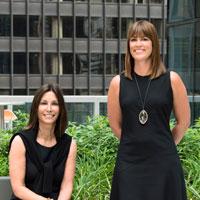 Gwen Farinella and Erin Ward