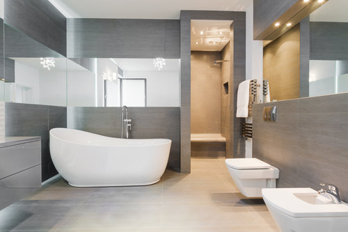 Unique bathroom home design trends
