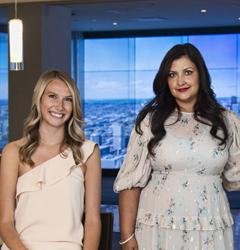 Cheena Chandra and Jessica McLean
