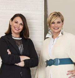 Julie Fleetwood and Lisa Miceli