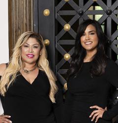 Mimi Luna and Lilly Ramirez