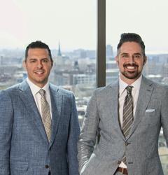 Nick Nastos and John Floros