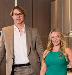 Lauren Traficanto and Shaun Moskalik
