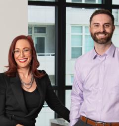 Kat Barry & Stuart Blaylock
