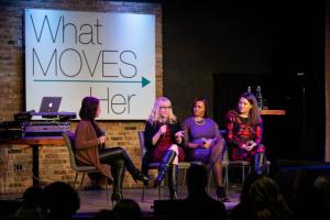 Tanya Reu-Narvaez, Rebecca Jensen, Michelle Mills Clement and Katie Johnson