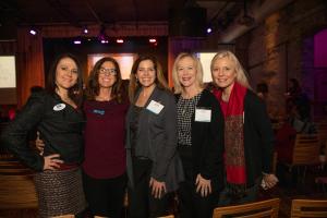 Michele Marks, Bobbi Banfield, Karen Spangler, Susan Merlak and Victoria Tan