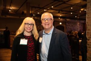 Rebecca Jensen and Jeff Lasky