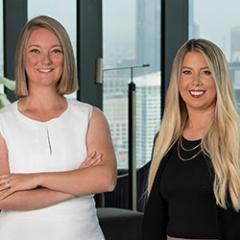 Shay Hata & Lauren Calderone