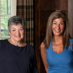 Jean Anderson & Donna Mancuso